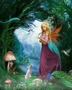 Fairy magic.