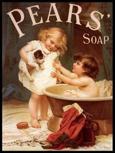 Pear's Soap Advertising