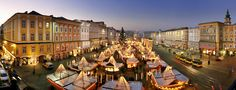 There's an endless list of things to do and see in Linz, capital of Upper Austria Inclusive Resorts, Vacation Resorts, Cruise Vacation, Dream Vacations, Tauck River Cruises, Cruise Travel Agent, Austria, Hotels, Heart Of Europe
