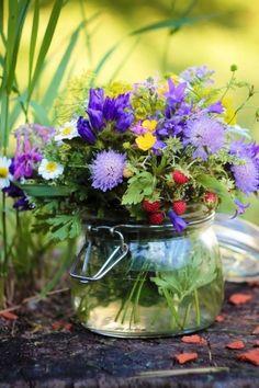 A Grand Gathering of Dreams — katysflowersandantiques: Wild flowers.