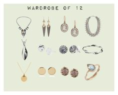 """""""12 Jewelry"""" by toukotakku on Polyvore #jewelry #jewellery #essentials #wardrobe #capsule  #foreveryoccasion #accessories #accessory #mixedmetals #silver #gold"""