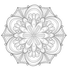 Adult coloring bookpage a zen mandala image vector Adult Coloring, Coloring Books, Coloring Pages, Free Vector Images, Vector Free, Image Vector, Stencils, Quilling Designs, Stationery Paper