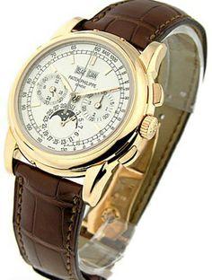 Replica Patek Philippe Chronograph Perpetual Calendar 5970R $195.00