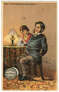 Clarks Thread Victorian Trade Card.