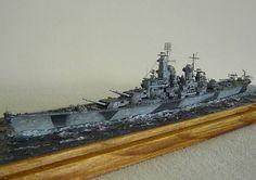 USS Iowa (BB-61) Uss Iowa, Diorama Ideas, Tamiya, Ww2, Scale Model