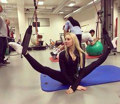 Yana KUDRYAVTSEVA (RUS) Training
