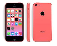 Apple Iphone 5C Smartphone 16GB 4 Zoll IPS Retina Touchscreen 8MP Kamera Pink…