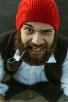 thick full dark beard and mustache beards bearded man men mens' style lumberjack mountain man pipe smoker smoking #beardsforever #beardsgonewild