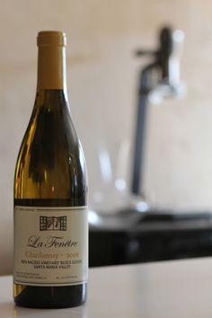 La Fenentre by Joshua Klapper. Killer Chardonnay from Bien Nacido (Santa Maria Valley)