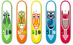/// Skateboards... not a sk8ter but love the owls on them! ;)