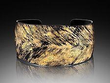 Iron & Gold Cuff by Pat Flynn