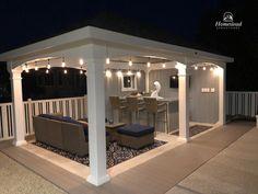 Backyard Pavilion, Backyard Bar, Backyard Guest Houses, Pool House Designs, Backyard Pool Designs, Pool House Shed, Pool House Decor, Living Pool, Outside Pool