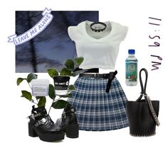 """""""Tonight"""" by nothingabovenothingbelow ❤ liked on Polyvore featuring Wyld Home, Alexander Wang, Davines and ASOS"""