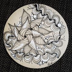 Zentangle 090316. Welcome to visit my FB Page…