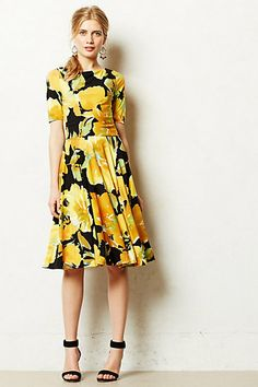Sunblossom Dress #anthropologie #anthrofave