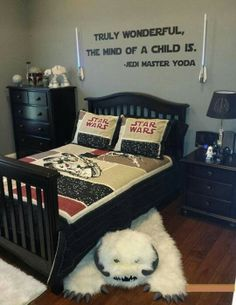 If I ever have a son, this will be his room!