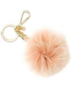 Michael Michael Kors Fur Pom Pom Keychain
