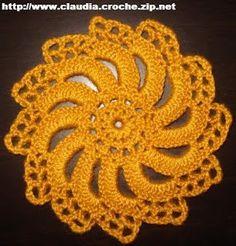 Motivi Pizzo Irlanda (Irish Crochet)