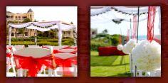 outdoor wedding ceremony at Crane Beach Resort