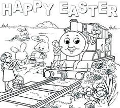 Printable Train Coloring Pages . 24 Printable Train Coloring Pages . Free Printable Train Coloring Pages for Kids Halloween Coloring Pages Printable, Free Printable Coloring Sheets, Christmas Coloring Pages, Easter Coloring Pictures, Easter Colouring, Coloring Pages For Kids, Kids Coloring, Free Coloring, Train Coloring Pages