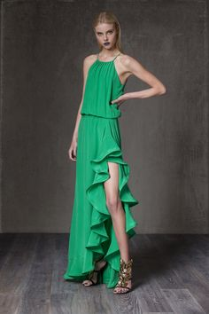 Lemon Chic green gown
