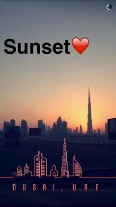 Abu Dhabi, Dubai Art, Visit Dubai, Snapchat Filters, Running Away, Tourism, Projects To Try, Graphic Design, Sunset