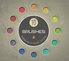 This category highlights only the best and free Photoshop and Illustrator brush packs and kits.
