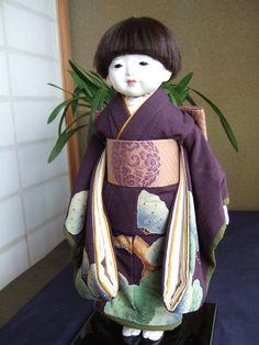 男の子 市松人形 - boy ichimatsu doll