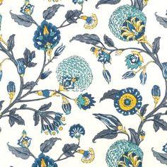 Robert Allen@Home Auretta Peacock Fabric