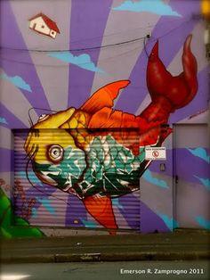 Binho Ribeiro - Koi Mural