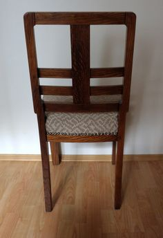 Art Deco chair from '40s covered with gold by updatechair on Etsy, €200.00