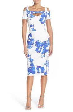 Chiara Boni La Petite Robe 'Jodylin' Cutout Jersey Sheath Dress available at #Nordstrom