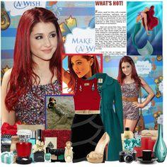 """Ariana Grande- Ariel"" by hannahrox313 on Polyvore"