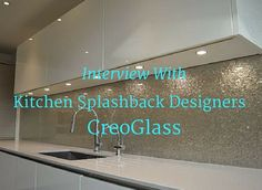 We were lucky enough to get an opportunity to interview kitchen glass splash-back specialists CreoGlass, to find out the low-down on what to consider for your own kitchen design in some of th… Kitchen Splashback Designs, Kitchen Design, Kitchen Ideas, Beautiful Kitchens, Cool Kitchens, Glass Kitchen, How To Find Out, Interview, Designers