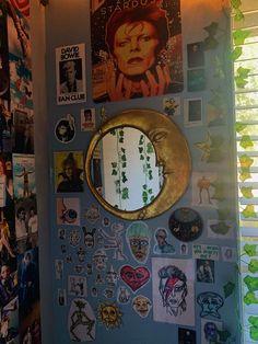 Room Design Bedroom, Room Ideas Bedroom, Bedroom Decor, Indie Room Decor, Cute Room Decor, Hippy Room, Cute Room Ideas, Grunge Room, Aesthetic Room Decor