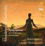 Felix Mendelssohn-Bartholdy: String Quintets [CD]