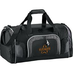 Personalized Touring 22 Inch Deluxe Duffel Bags are made using PolyCanvas material. Businesses and organizations can make these custom duffel bags their gifts to important people in business network. Large U-shaped main compartment with zippered c Gucci Handbags Outlet, Handbags Online, Promotional Bags, Quality Logo Products, Custom Bags, Golf Shoes, Leeds, Other Accessories, Golf Bags