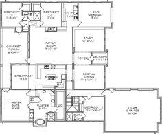 Main Floor Plan: 85-143