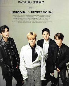 [SCAN] EXO For ViVi Magazine January 2017 Issue - - - | © Sugarless Boy | #exo #suho #xiumin #lay #chen #Baekhyun #chanyeol #kyungsoo #kai #sehun #CBX #ChenBaekXi