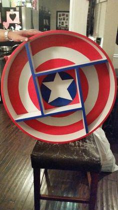 Captain America Shelf                                                                                                                                                                                 More