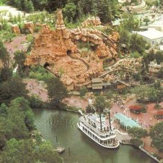 Big Thunder Mountain on its opening day