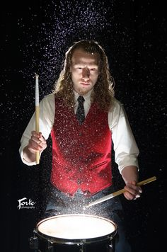 Senior Pictures Guy Drummer - Drum - Canton, NC - Forte Photography