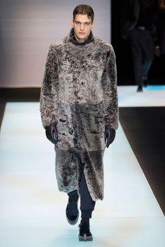 Giorgio Armani FW16.  menswear mnswr mens style mens fashion fashion style runway giorgioarmani