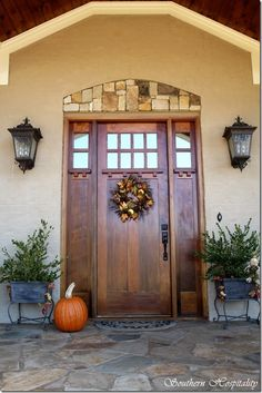 Craftsman style - but this entry makes me think of a mountain home.