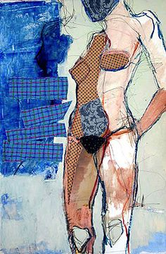 Jylian Gustlin Stitched Artwork