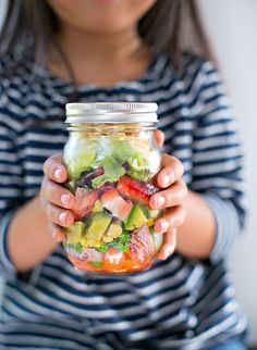 Cooking with kids: Salad in a Jar