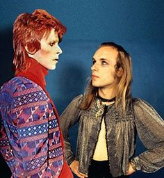 Tributes for Bowie. January 10 2015 Pic with Brian Eno The sad news is confirmed that the star musician has died, surrounded by his family, after an battle with cancer, aged 69 Steve Reich, David Bowie, Glam Rock, Portsmouth, Ian Hunter, Mick Ronson, Roxy Music, The Thin White Duke, Glam And Glitter