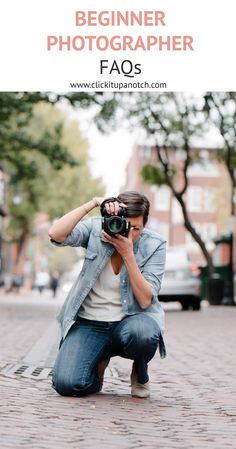 This is exactly what I need as a beginner photographer. All my frequently asked photography questions are now answered!