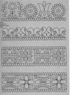 Silk Ribbon Embroidery: A Workshop Approach for Beginners (Milner Craft Series) - Embroidery Design Guide Hungarian Embroidery, Folk Embroidery, Embroidery Patterns Free, Ribbon Embroidery, Embroidery Stitches, Cross Stitch Patterns, Machine Embroidery, Embroidery Designs, Doodle Patterns