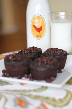 low cal chocolate muffins